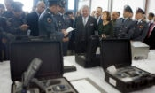 Ambassador Elizabeth Richard at Airport Security Equipment Handover Ceremony