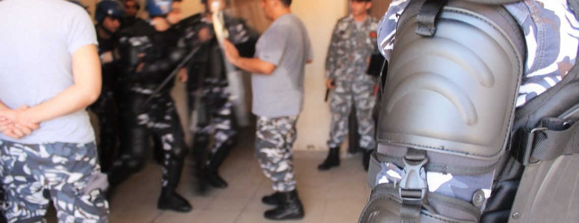 U.S.-Funded Model Prison Building at ISF Training Academy