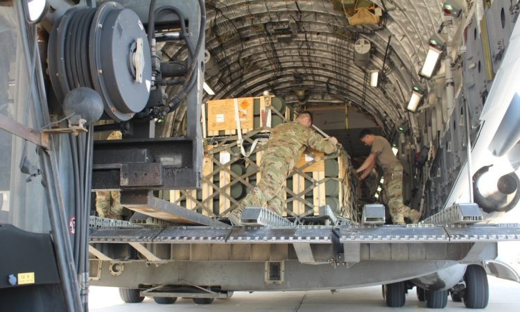 weapons delivery off of plane