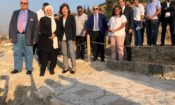 Ambassador Elizabeth Richard Attends Inauguration of Ambassadors Fund for Cultural Preservation Project at Eshmun Temple