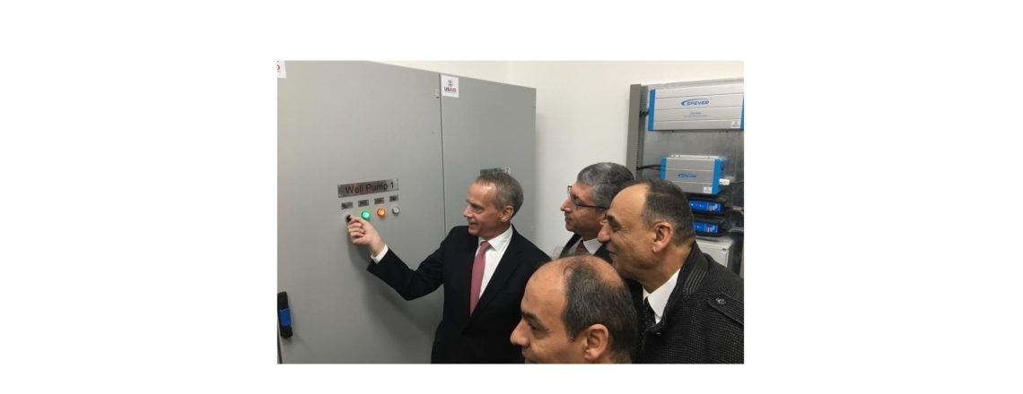 New USAID-Funded Pump Station in Ghazzeh