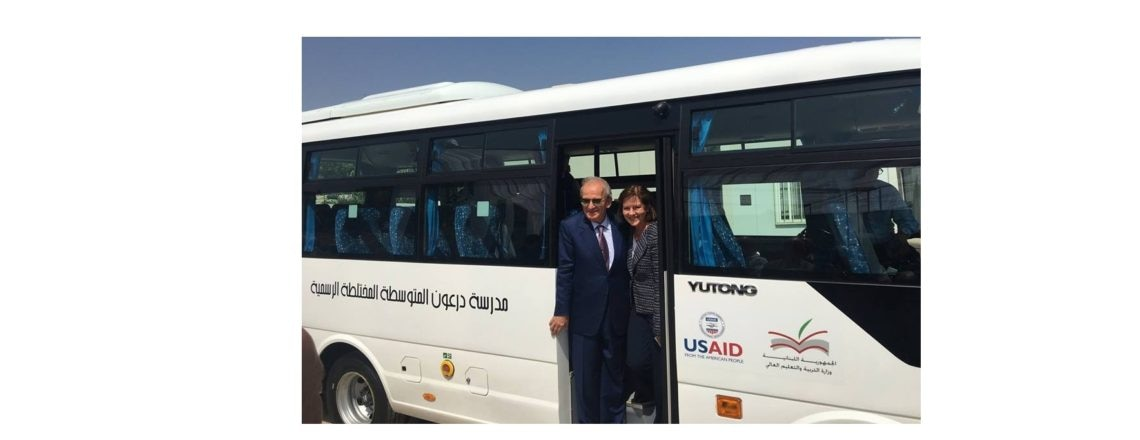 United States Provides 100 School Buses to Lebanese Public Schools
